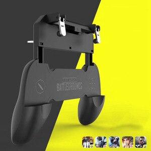 Image 4 - W10 Wireless Gamepad PUBG Joystick di Controllo Remoto per iOS Android Del Telefono Mobile Maniglia Controller Console di Gioco Accessori
