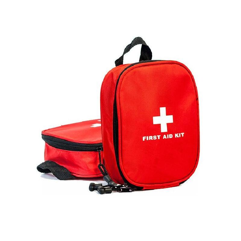 Viajar Saco De Armazenamento Portátil de Primeiros Socorros Saco De Medicina de Emergência Ao Ar Livre Pílula Organizador Pacote De Emergência Kits de Sobrevivência 16 item 46