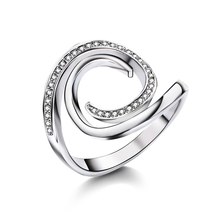 ФОТО new fashion female wedding bands engagement rings setting cubic zirconia anel jewelry for women love bague anillos mujer gift