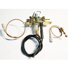 MENSI пропан пилотная газовая горелка в сборе комнатное пространство нагреватель переключатель Пламени Газовый Нагреватель запасные части термопара комплект куртка-пилот 3 шт