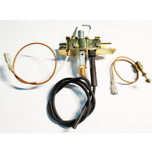 MENSI Propane Gas Pilot burner Assembly Room Space Heater Flame Switch Gas Heater Replacement Parts Thermocouple Pilot Kit 3PCS цена и фото