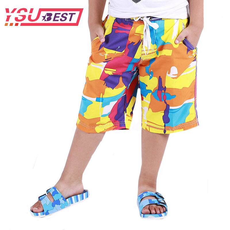 XALER Sonic The Hedgehog Youth Boys Shorts Summer Beach Casual Pants Swim Trunk Quick Dry White
