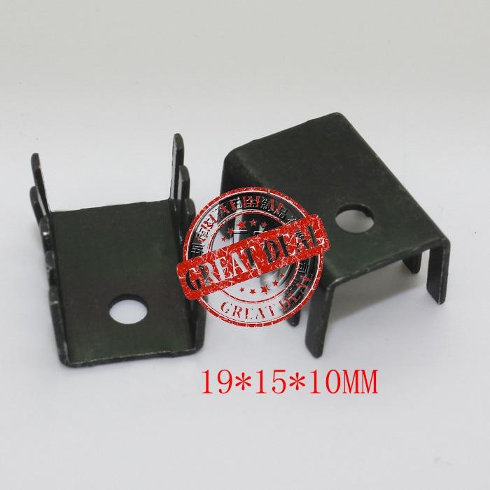 Free Shipping Wholesale 100PCS Aluminum To-220 Heatsink 19*15*10mm  781/7805 Heatsink Block