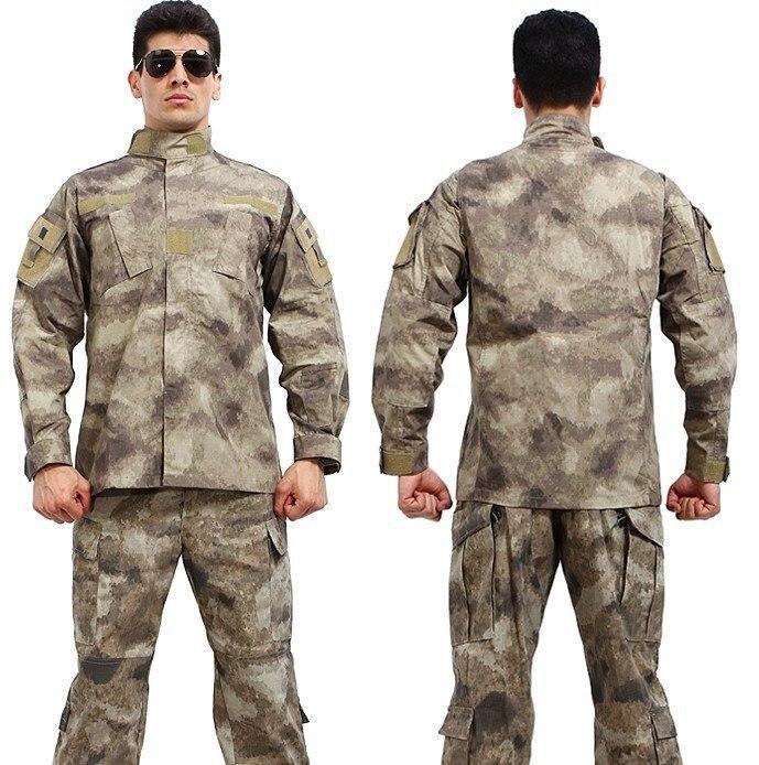 Selbstlos Armee Militärische Taktische Cargo Hosen Uniform Wasserdichte Camouflage Tactical Military Bdu Kampf Uniform Uns Armee Männer Kleidung Set Elegant Und Anmutig Sets/garnituren