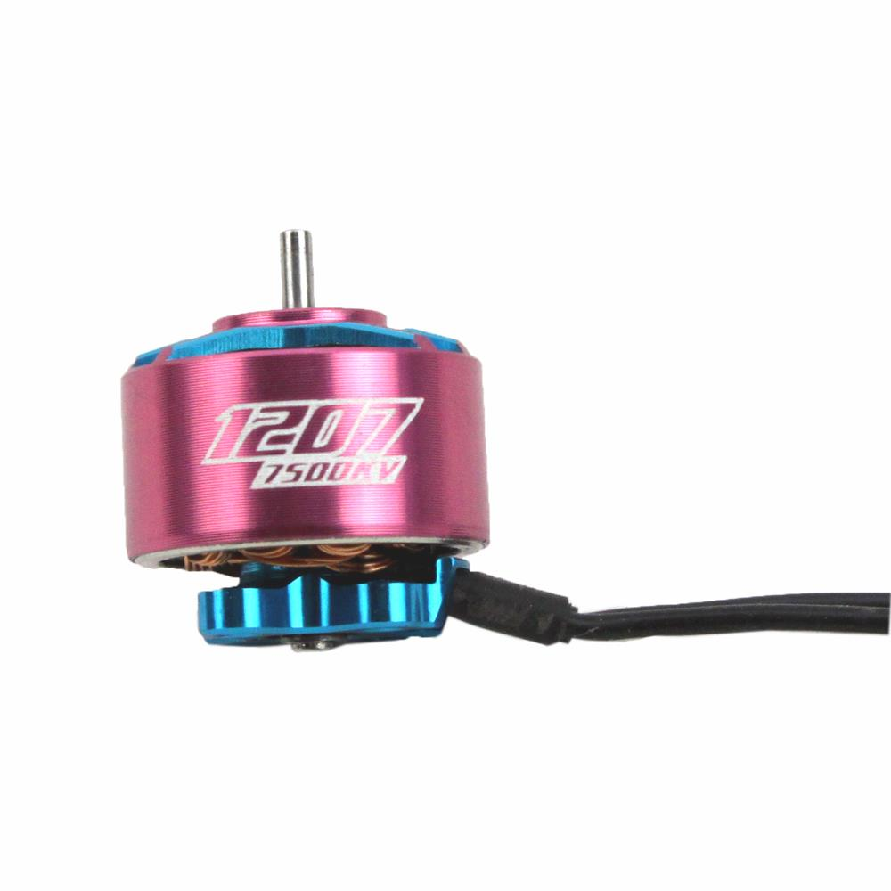 Image 2 - 4PCS RCINPOWER GTS V2 1207 5000/6000KV 3 4S 7500KV 2 3S Brushless Motor for RC Drone FPV Racing Tinywhoop Cinewhoop-in Parts & Accessories from Toys & Hobbies