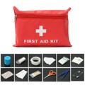 35 in 1 First Aid Kit Medical Pouch Emergency 1st Aid Bag F/ Treatment Rescue Survival Bag Outdoor Work Travel Holiday