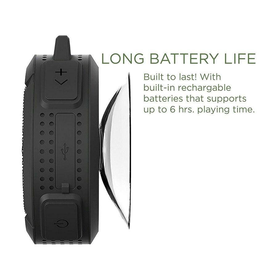 Mini Altavoz Bluetooth impermeable C6 Altavoces estéreo - Audio y video portátil - foto 4