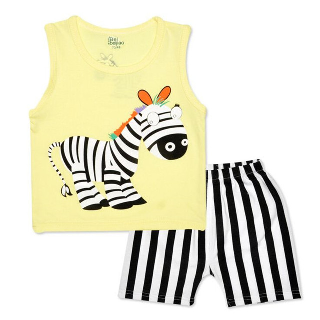 Cartoon Baby Boy Clothing Set