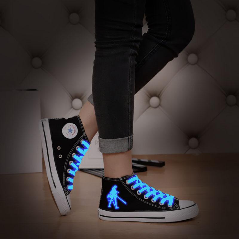 Cosworld Attack On Titan Cosplay Shoes High Platform Canvas Shingeki No Kyojin Shoes Board Luminous Shoes (5)