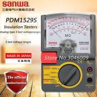 sanwa PDM1529S Insulation Testers/Analog type 3 test voltage ranges, 1000V/2000Mohm Analog megohmmeter