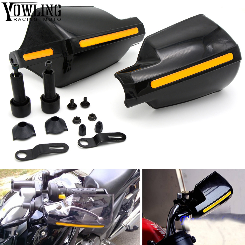 Motorcycle wind shield Brake lever hand guard For MOTO GUZZI V7 Classic Racer Stone/Special V9 Bobber with Hollow Handle bar