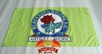 England Blackburn Rovers Football Club Flag 90 150CM 100 Polyester England Blackburn Soccer Club Banner