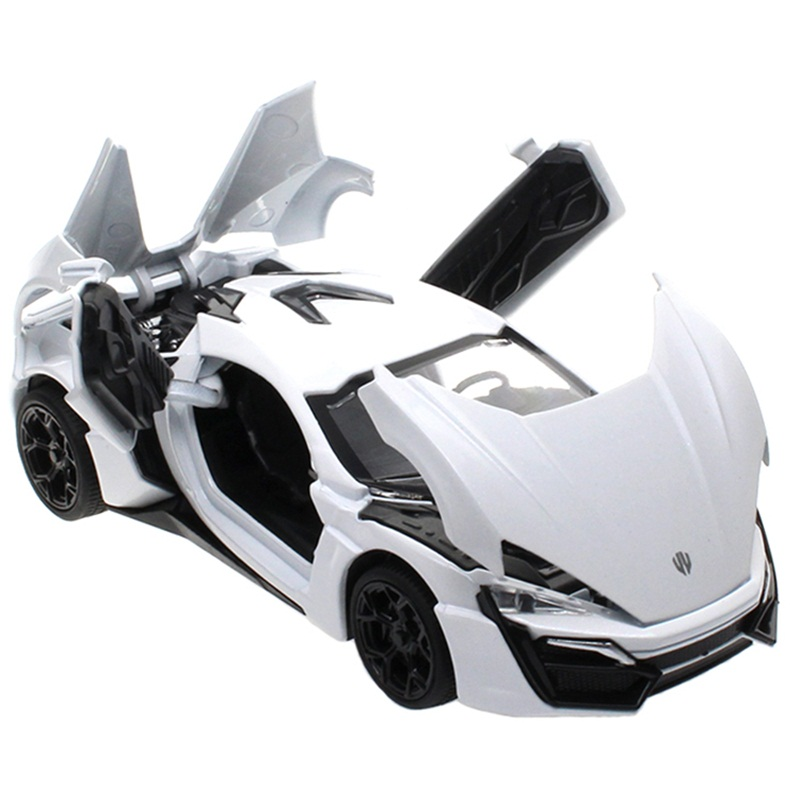 132 kids toys fast furious 7 lykan hypersport mini metal toy cars model pull back car miniatures gifts for boys children in diecasts toy vehicles from