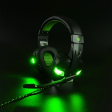 Купить с кэшбэком Best Gaming Headset Gamer casque Deep Bass Gaming Headphones for Computer PC Laptop PS4 Xbox One Notebook with Microphone LED