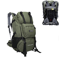 Locallion Große Kapazität Wandern Rucksack Packs für Outdoor Wandern Reise Klettern Camping Bergsteigen mit Regen Abdeckung|backpacking packs|backpack largebackpack climbing -