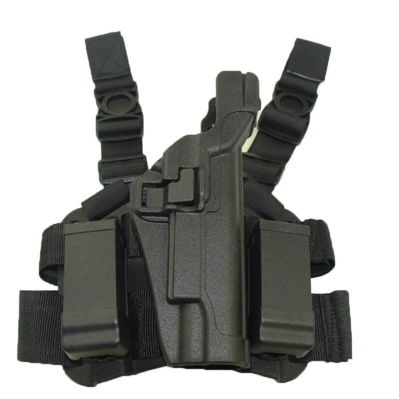 Arma de la caza Accesorios Tactical Holster Diestro Cinturón Ajuste Paleta Para
