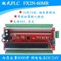 MITSUBISHI ПЛК промышленного управления доска FX2N-60MR-4AD-2DA Аналоговый программируемый логический контроллер
