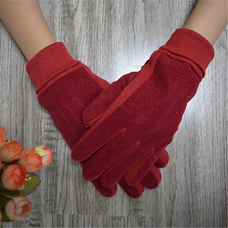 Winter Women Gloves Brand Wrist Lady Gloves Winter Warm