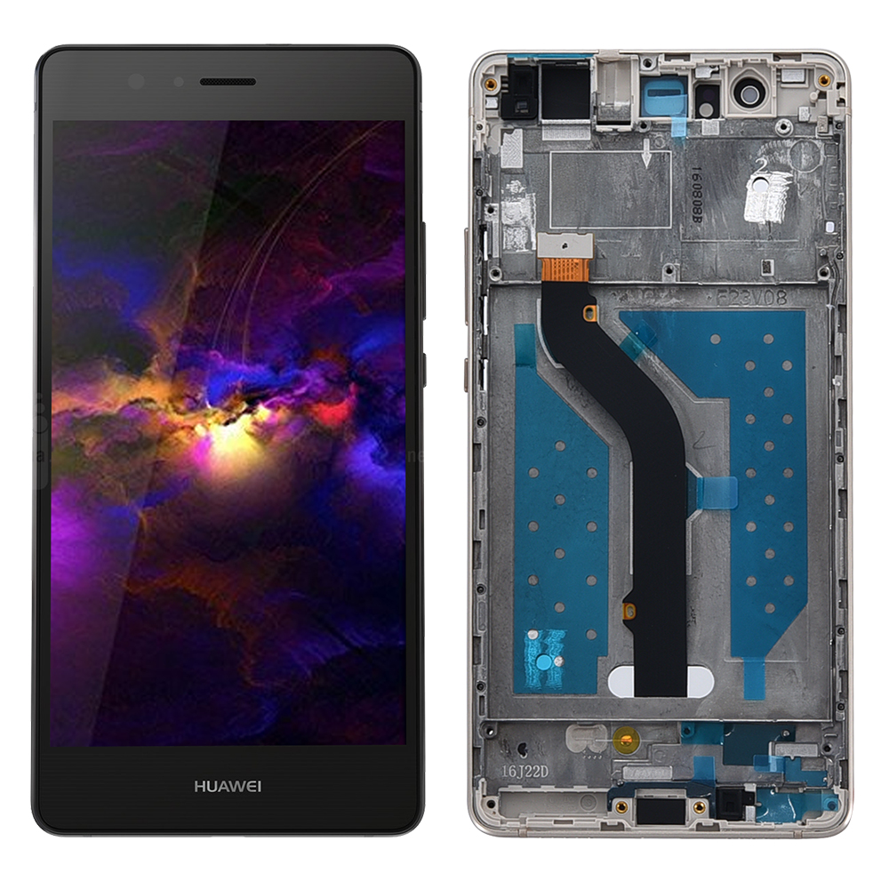 5.2 Inch AAA Quality LCD +Frame For HUAWEI P9 Lite Lcd Display Screen For HUAWEI P9 Lite Digiziter Assembly 1920*1080