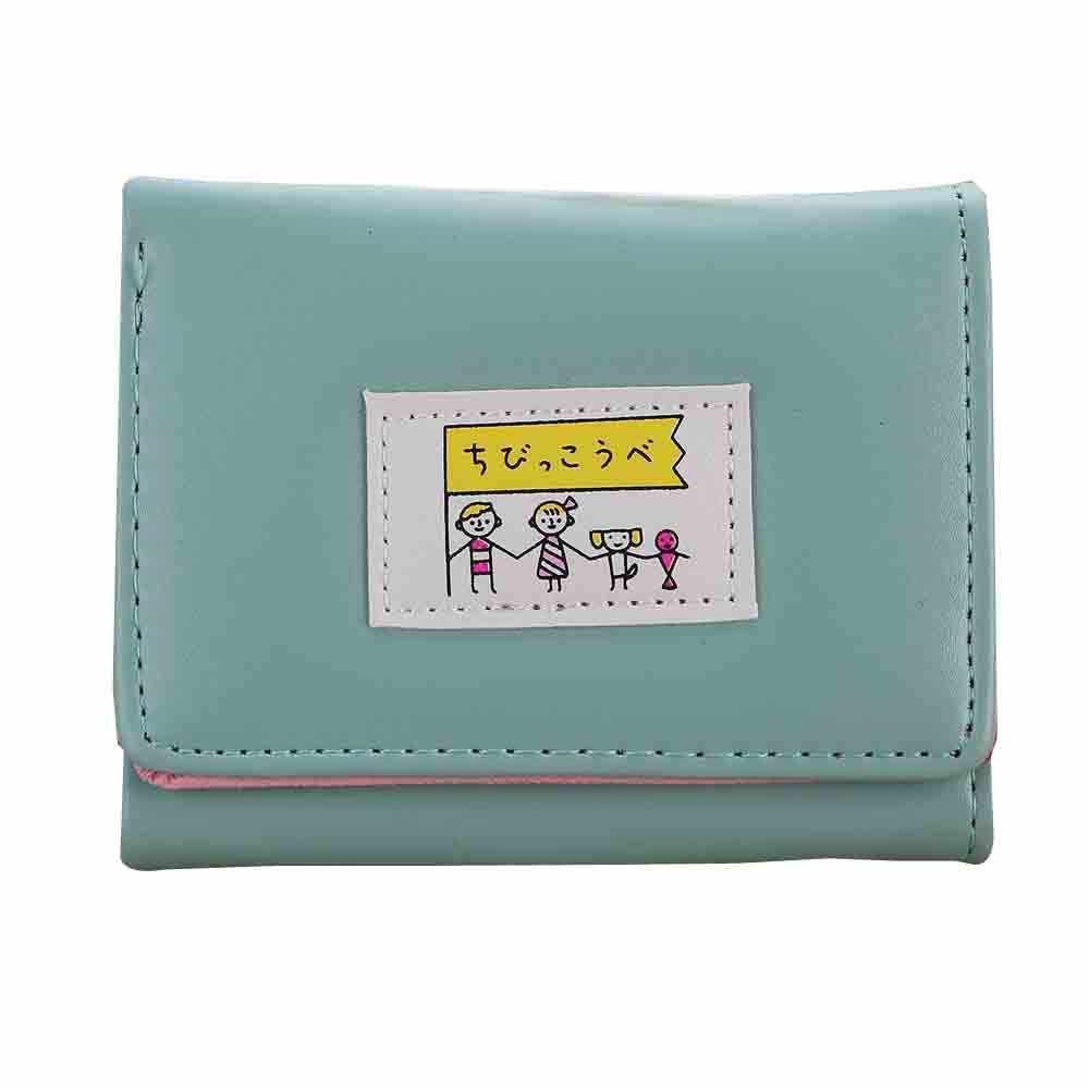 Moda kadın cüzdan güzel karikatür Macaron deri kadın küçük bozuk para cüzdanı çile fermuar çocuk çanta kart tutucu kızlar için (25