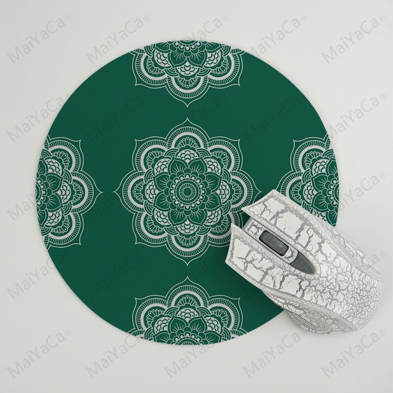 MaiYaCa Boy Gift Pad Cool Cool Mandala High Speed New Mousepad Size for 200x200x2mm and 220x220x2mm Round Mousemats