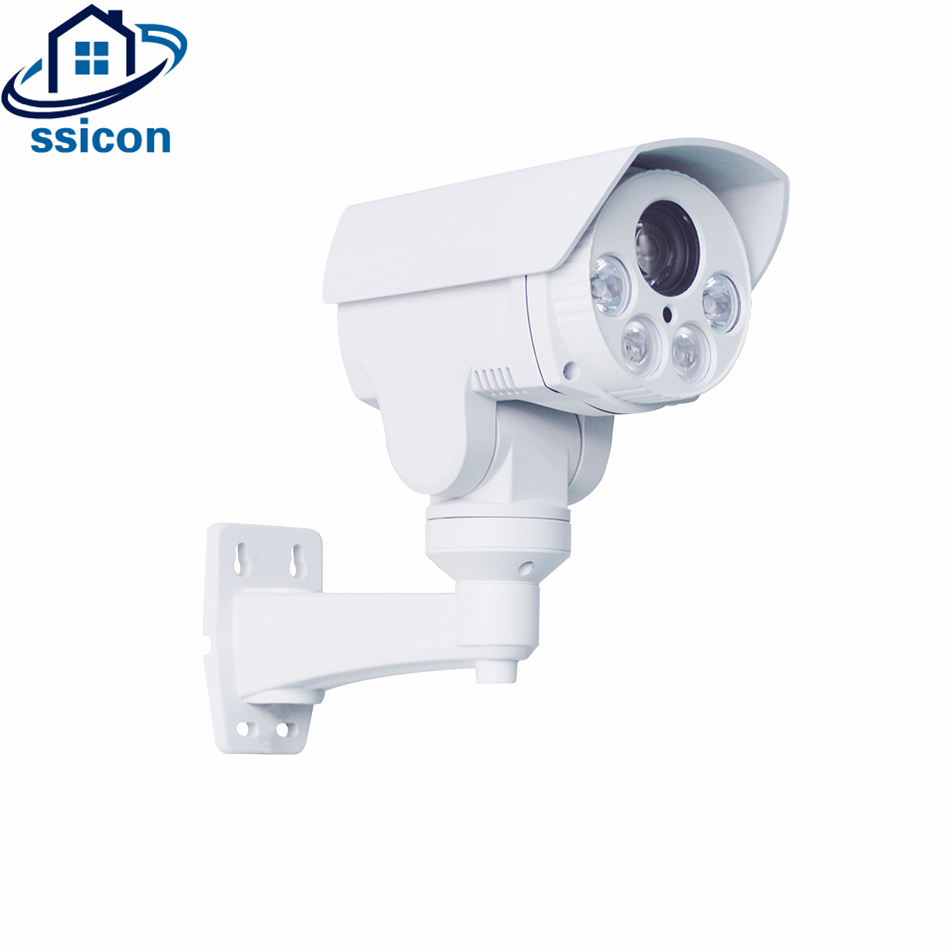 SSICON 5.0MP Waterproof 10X Optical Zoom Bullet PTZ IP Camera IR Distance 50M Infrared Security Surveillance CCTV Camera Outdoor image