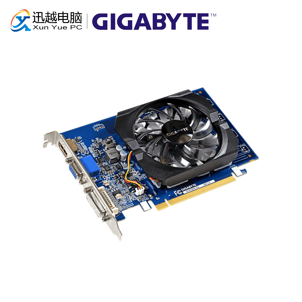 Gigabyte GV-N730D3-1GI Graphics Cards 64bit GT 730 1 GB GDDR3 HDMI DVI VGA For Nvidia Geforce GT 730 Original Used Video Card(China)