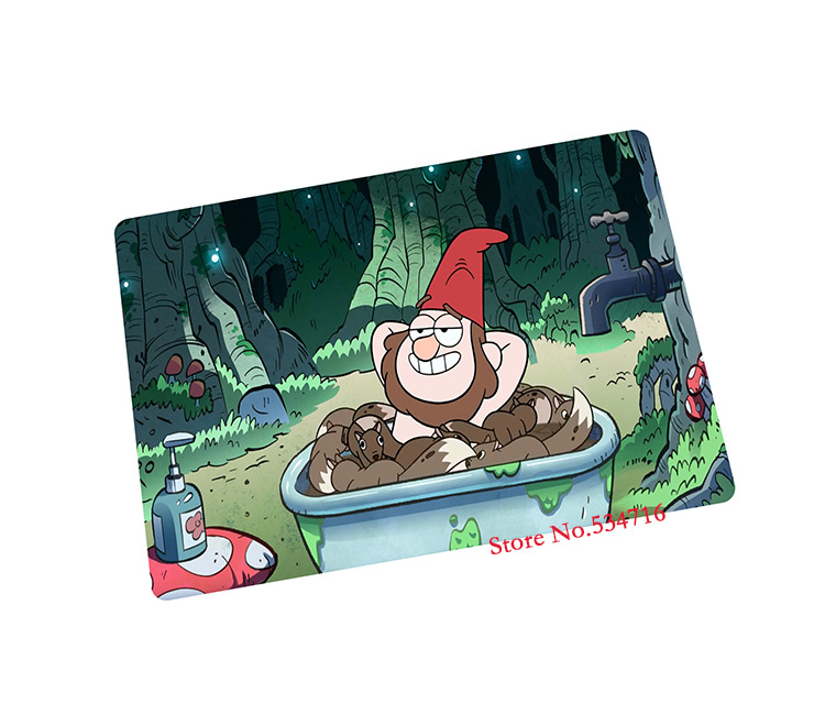 gravity falls mouse pad gear hot sales mystery shack game pad to mouse notebook computer mouse mat brand gaming mousepad gamer