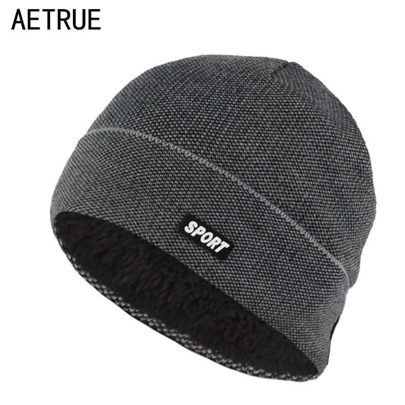 dfe2e56528b02 Winter Hat Beanies Skullies Knitted hat Winter Hats For Men Women Brand Cap  Skull Gorros Balaclava