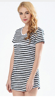 F1 Korean Style Summer Short Sleeve Maternity Clothes Casual Long Style V Neck Shirts Blouses For