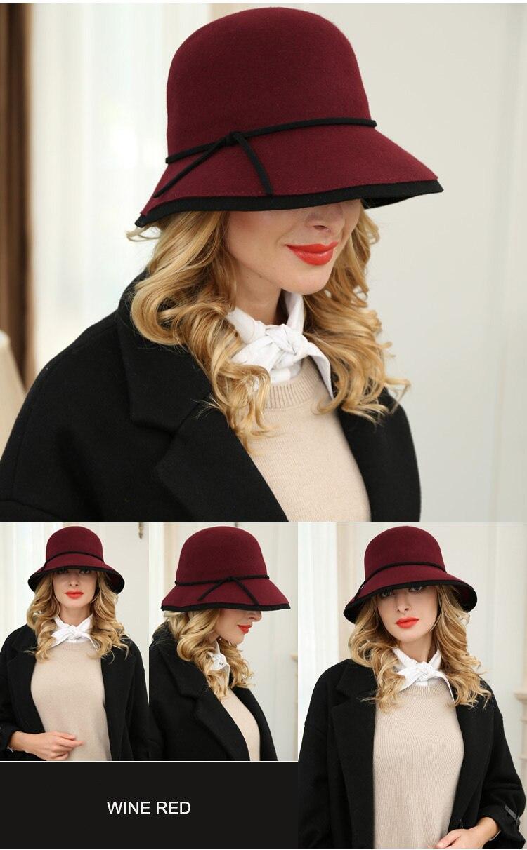3 red hat women