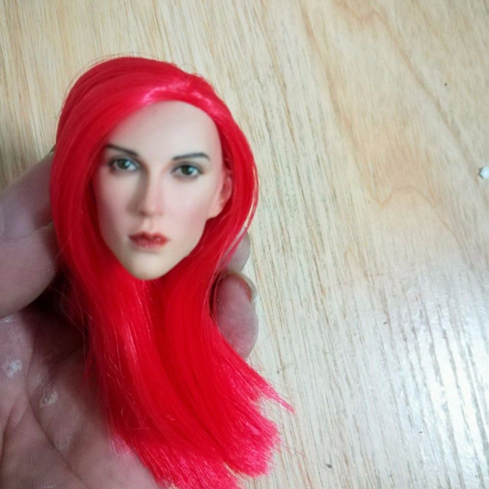 1 6 Scale Sparta Female Commander Head Sculpt W Long Red Hair Girl Head Carving F 12 39 39 Body Action Figure Doll Body Toys in Action amp Toy Figures from Toys amp Hobbies