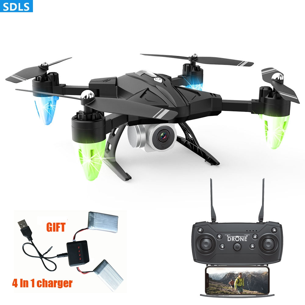 RC Mini Foldable Camera Drone With Camera HD Altitude Hover 1080P WIFI FPV Drone RC Helicopter Gestures Control Drone 20 Minutes