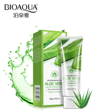 100% Pure Brand Aloe Vera Gel Plant Extract Natural Essence Facial Skin Care Face Cream Anti Winkle Whitening Moisturizing 40g pure and natural moisturizing aloe vera gel