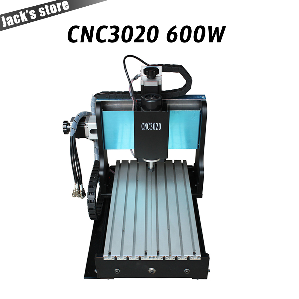 3020Z-DQ++, CNC3020 600W  Ball screw  PCB engraving driling and milling machine CNC 3020 cnc router cnc machine cnc 3020 router wood pcb engraving driling and milling machine cnc3020 500w spindle motor