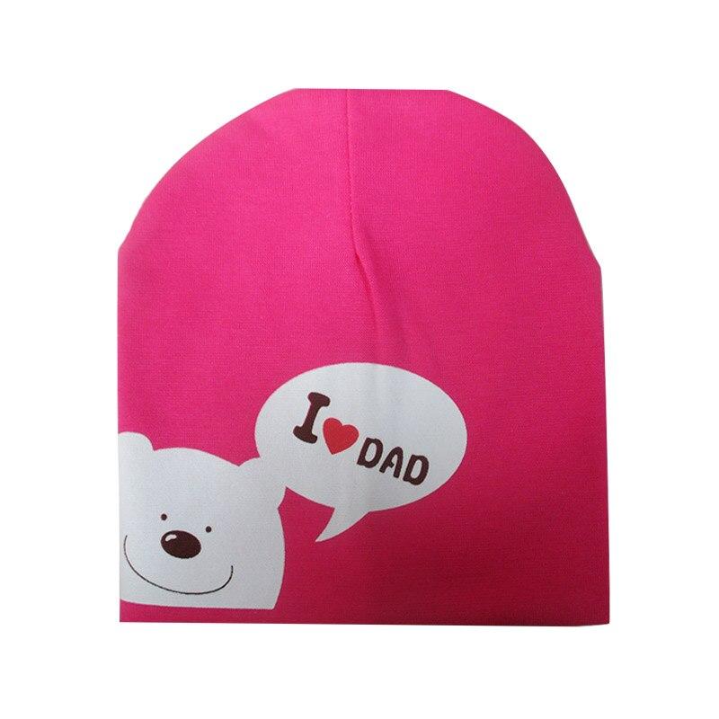 7aa8a079a0b Dropwow 1Pcs Print Cartoon I Love Mama Papa Baby Hat New Spring ...
