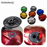 8 Colors CNC Billet Fuel Tank Cover For BMW F800R 2005 2011 Motorcycle Accessories Gas Cap Petrol Covers 2006 2007 2008 2009