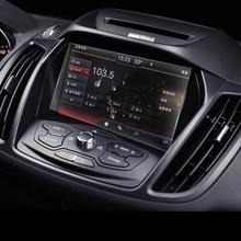 Lsrtw2017 приборной панели автомобиля навигации против царапин закаленная пленка для ford kuga escape 2013 2014 2015 2016 2017 2018 2019