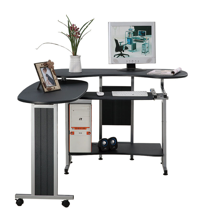 aliexpresscom buy foldable office table desk. SUNTEAM Double Desktop Computer Desk Corner Modern Minimalist Home Office Folding Table-in Desks From Furniture On Aliexpress.com Aliexpresscom Buy Foldable Table