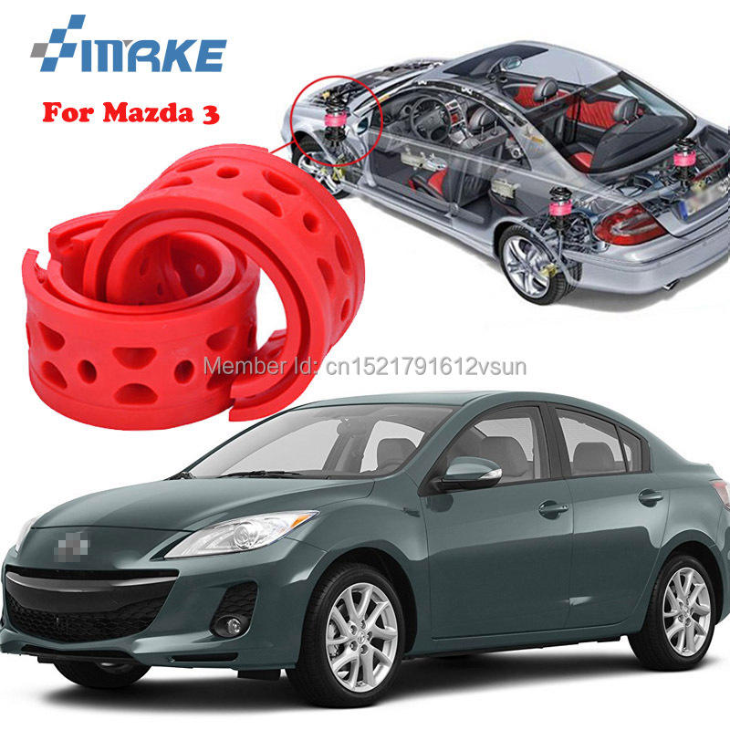 smRKE For Mazda 3 High-quality Front /Rear Car Auto Shock Absorber Spring Bumper Power Cushion Buffer