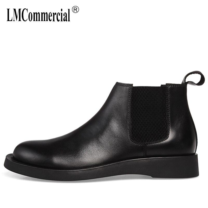 Здесь можно купить  autumn winter Genuine leather high-top men