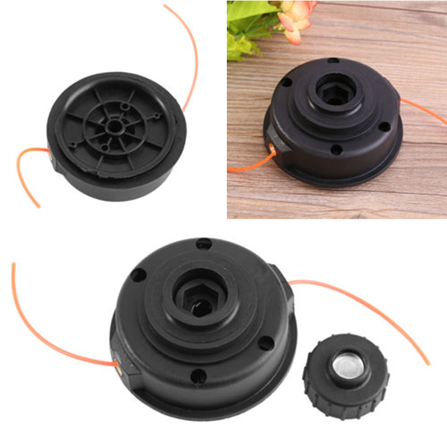 US $5 58 5% OFF|9 5 * 5cm Grass String Trimmer Bump Head Line Black Trimmer  Head Weeding machine accessory for Homelite ST155/ST165/ST175/ST285-in
