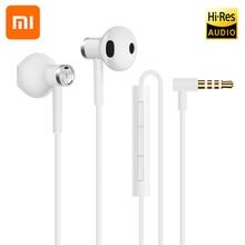 Xiao mi Hybrid Hi-Res Audio DC Seo 3,5 мм проводные наушники с контролем громкости с HD mi c Dual Driver для XIAO mi 4 5 5S Plus 4C 4S mi X 2