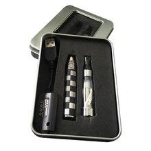 hot-Selling EGO-CE4 classic ego electronic cigarette set whith CE4 atomizer iron box gift box K tube carving