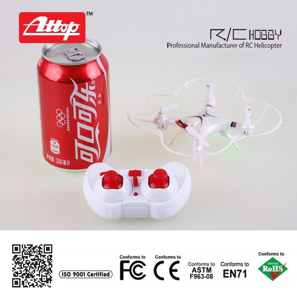 Kids festival toy mini RC drone A2 2 4 4ch 6axis resistant fall all protection frame
