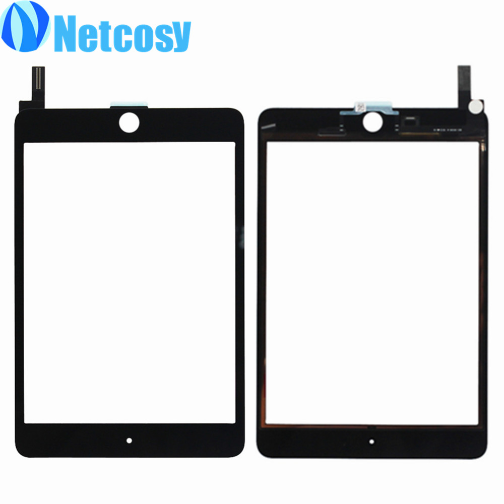 10pcs/Lot Black/White Touchscreen for ipad mini 4 Touch screen digitizer glass Panel repair for ipad mini 4 Tablet touch panel 5pcs set tested new original white black 7 9 inch for ipad mini 3 digitizer touch front glass lcd panels screen repair part