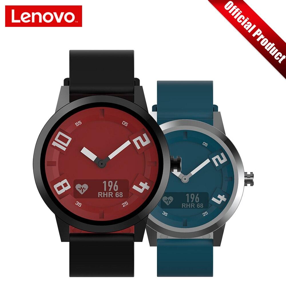 Lenovo Smart Montre Montre X Édition De Sports BT5.0 Lumineux Pointeur Smartwatch Écran OLED Double Couche Bracelet En Silicone Montre-Bracelet