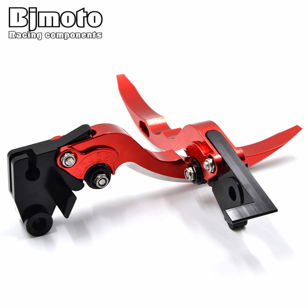 BJMOTO Motorcycle Blade Brake Clutch Levers Motorbikes Brakes Lever For Honda CB1000R 2008-2016 CBR1000RR/FIREBLADE 2004-2007 fit for honda cb1000r 2008 2015 cbr1000rr fireblade 2004 2007 motorcycle cnc aluminum brake clutch levers