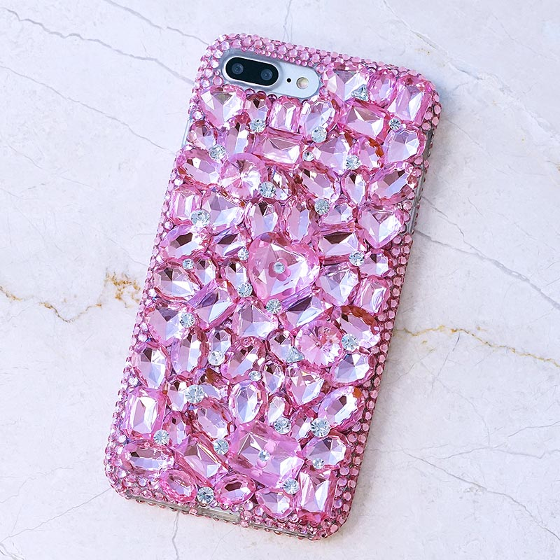 3D Rosebling Crystal Woman Handmade Rhinestone Diamond Gift Phone Cover Case For Google Pixel/Pixel XL/Google Pixel 2/Pixel XL 2