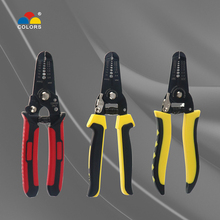0.6-2.6mm wire cutter stripper cutting mini pliers cutters cable tool electrical strippers crimp crimper striptang stripping